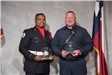Officer and Firefighter of the Year award.