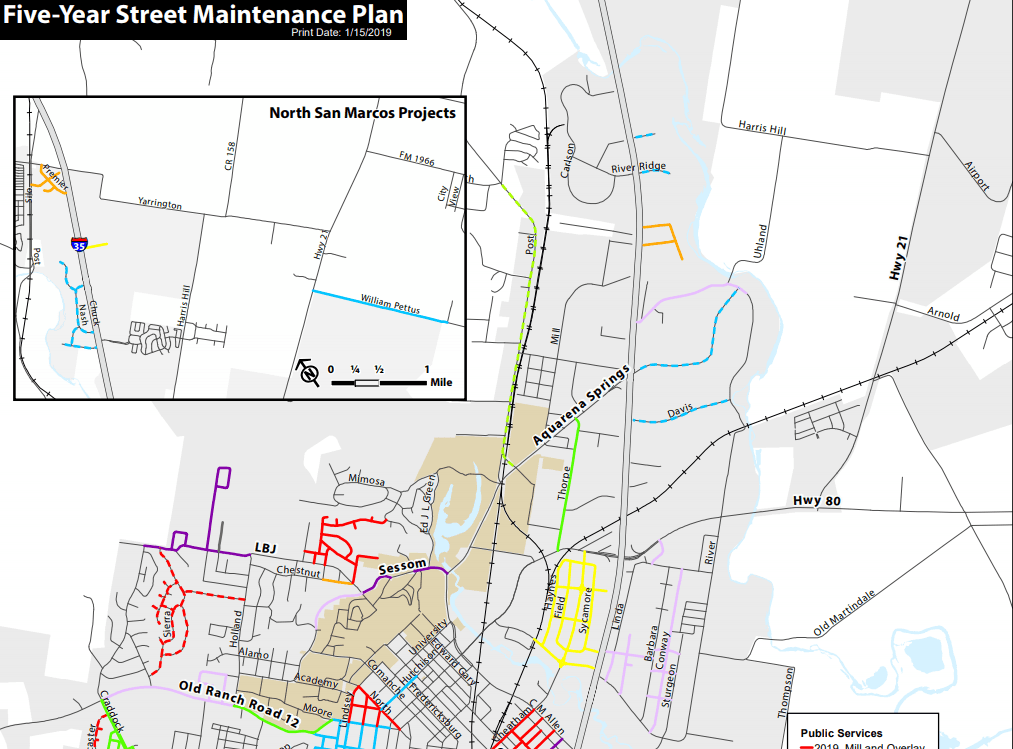 Five-Year Street Maintenance Plan