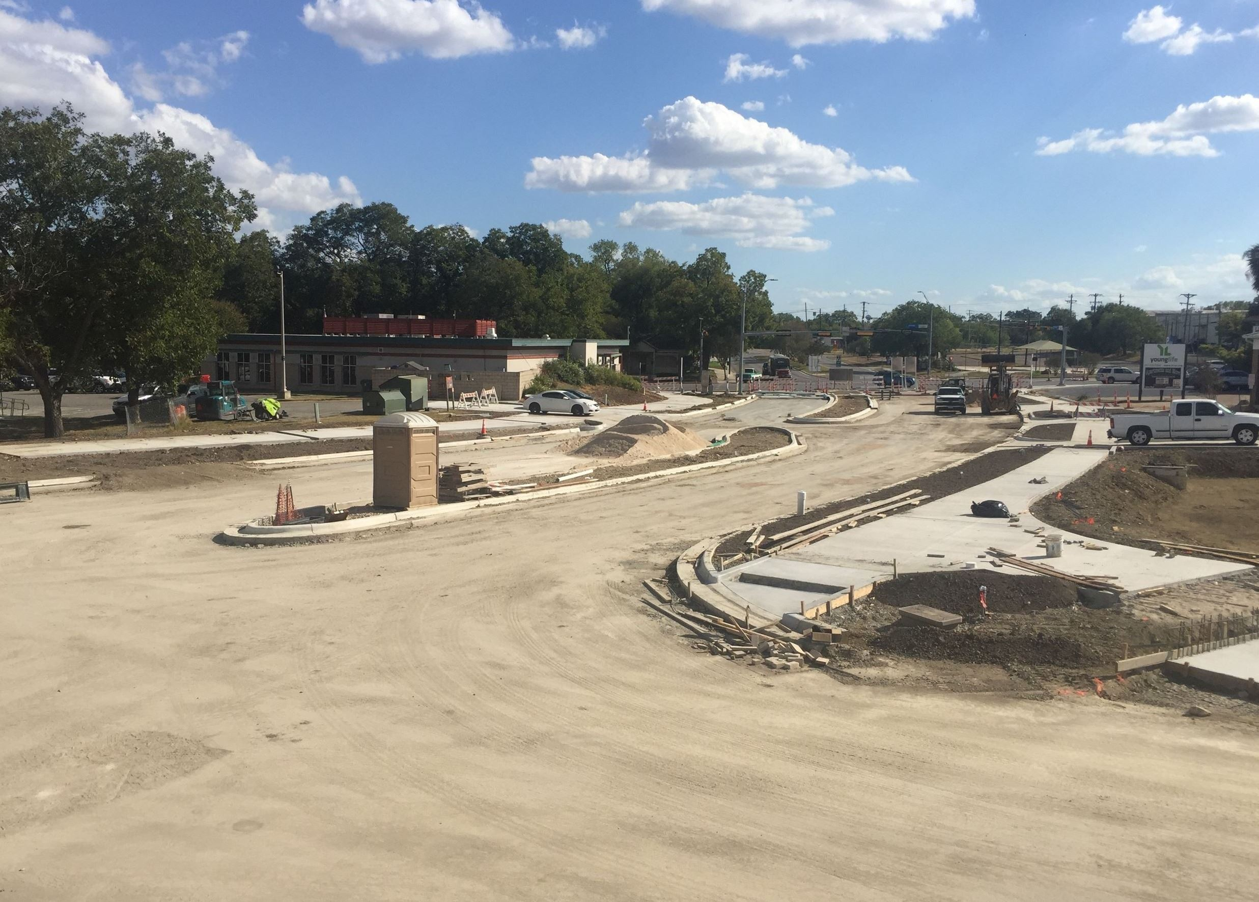 Photo of CM Allen Parkway progress
