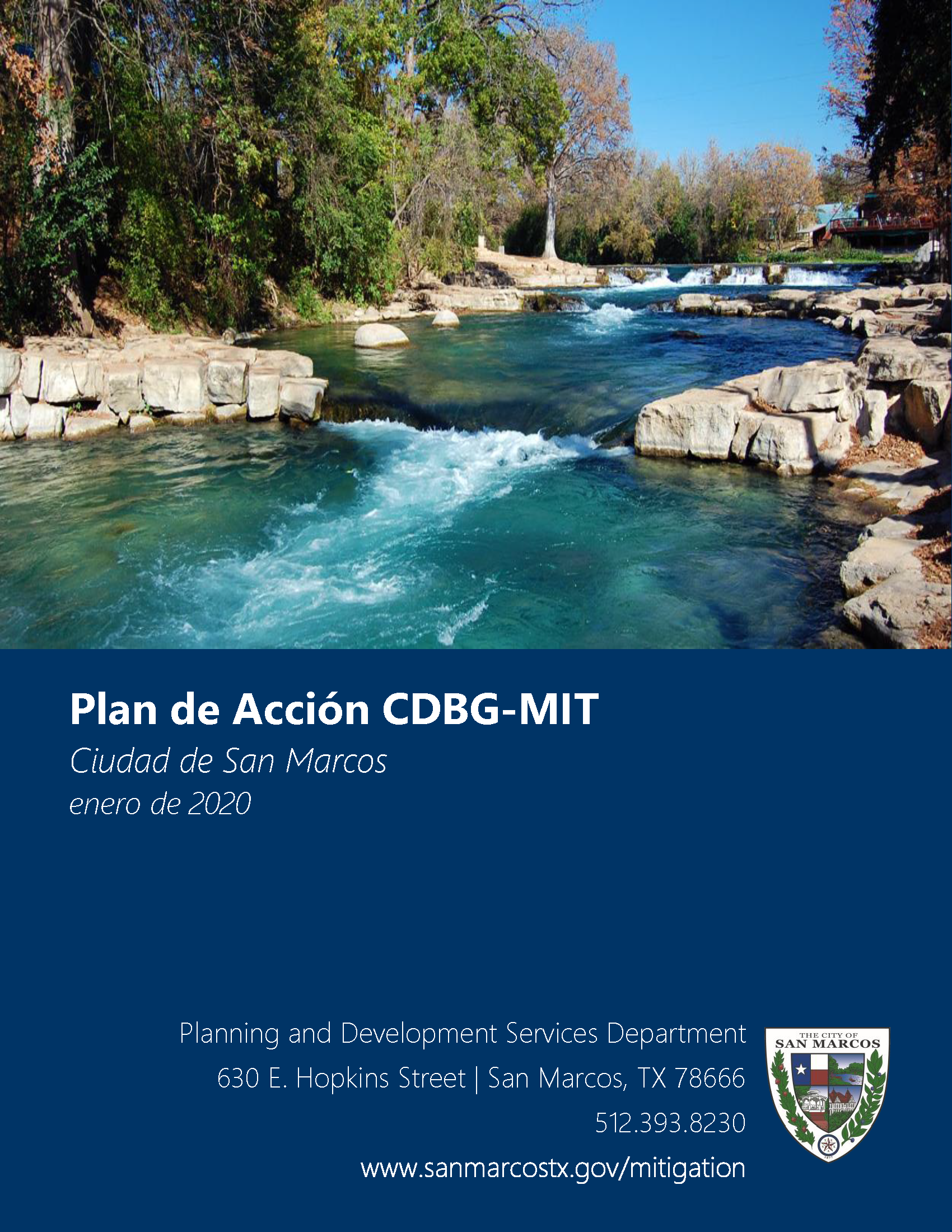 Spanish version of CDBG Mitigation Action Plan