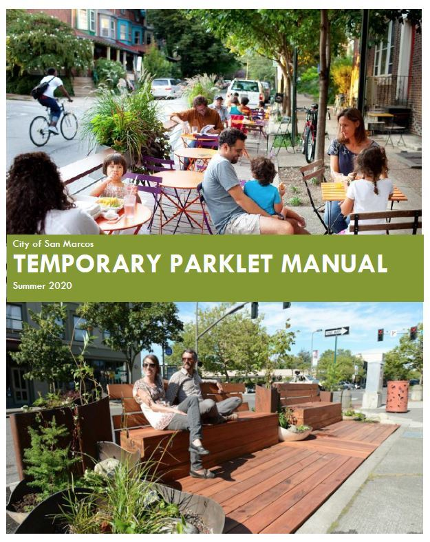 Temporary Parklet Application