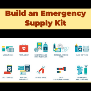 Build a Disaster or Emergency Kit