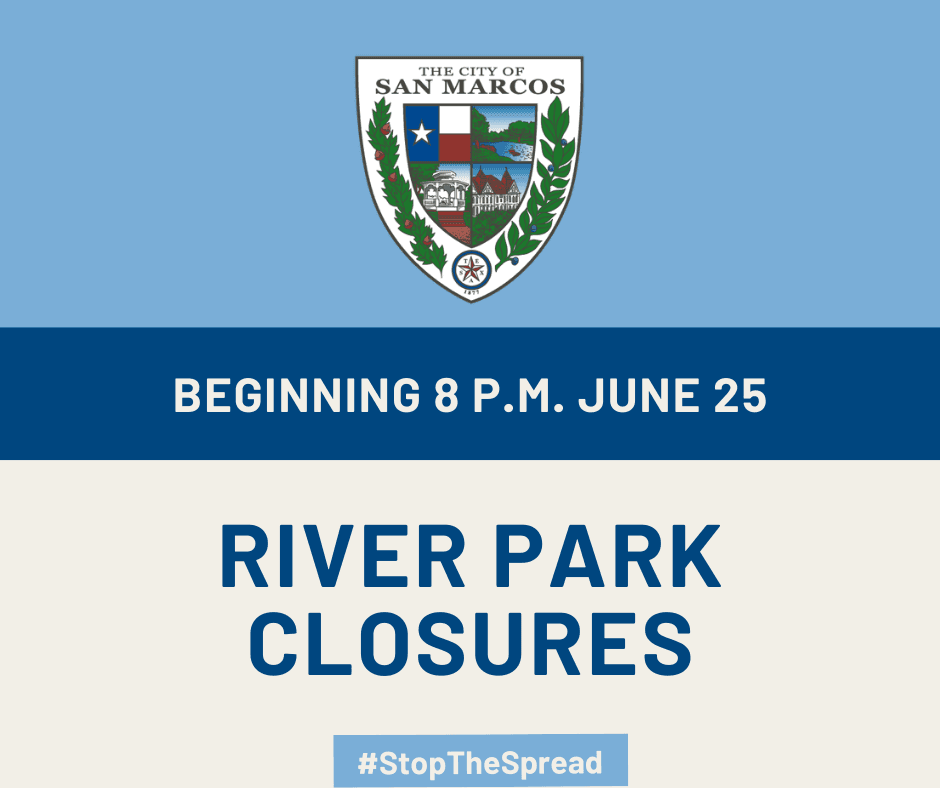 River park closure