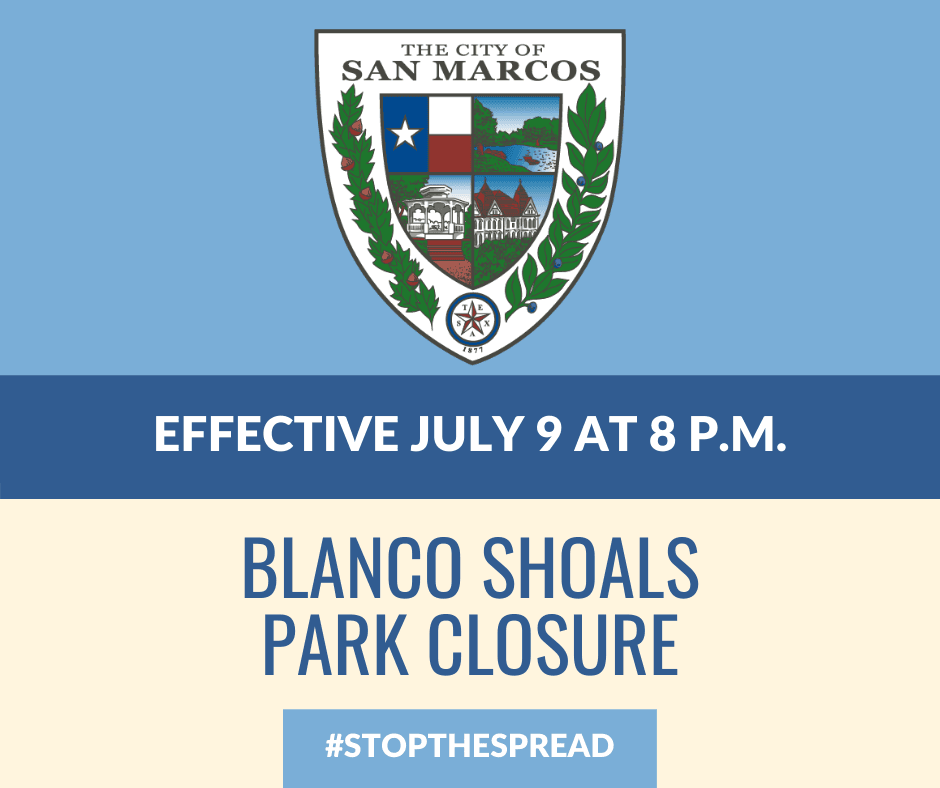blanco shoals closure