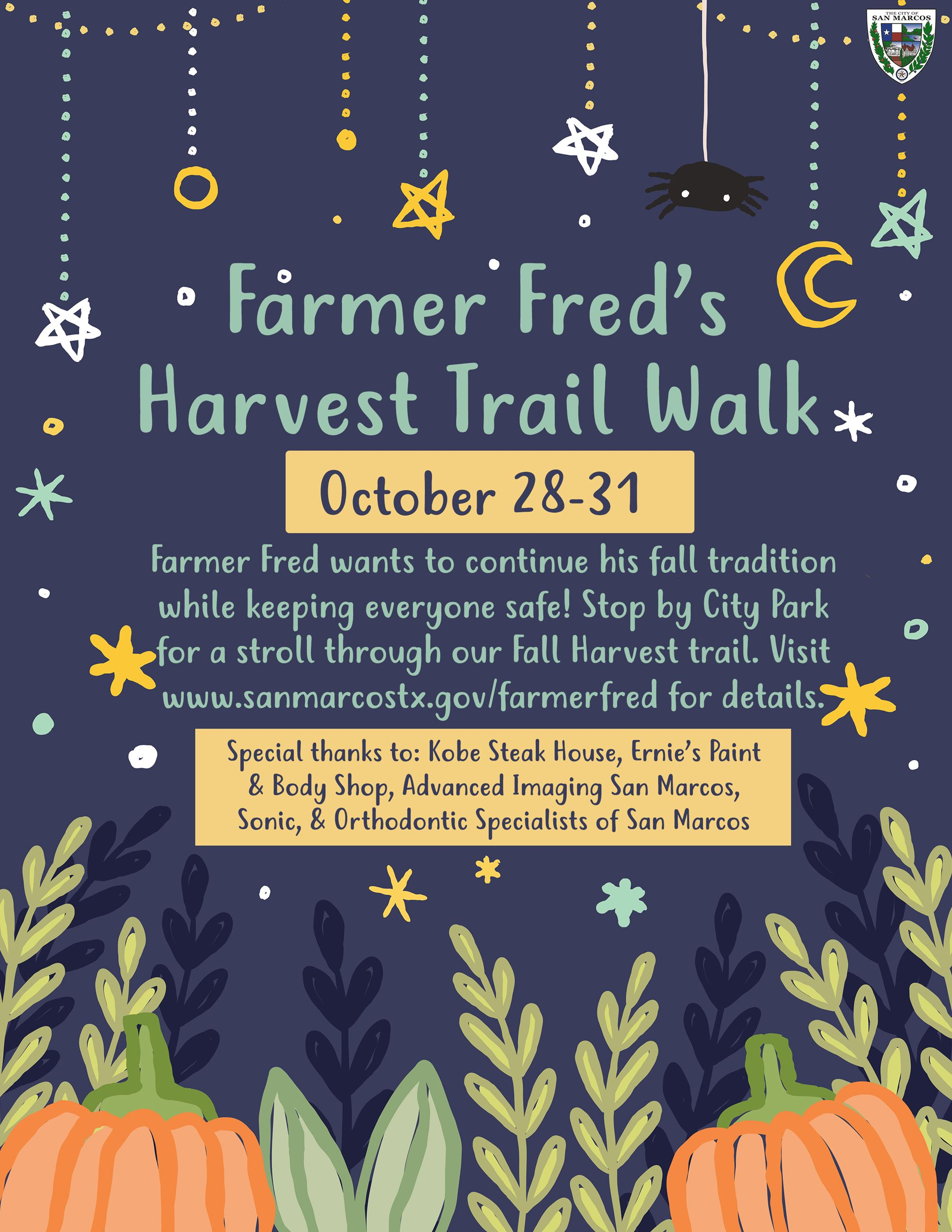 Farmer Fred's Harvest Trail Walk