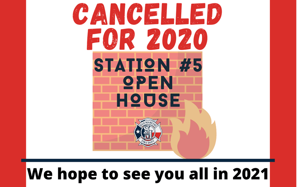 Open House 2020-Cancelled