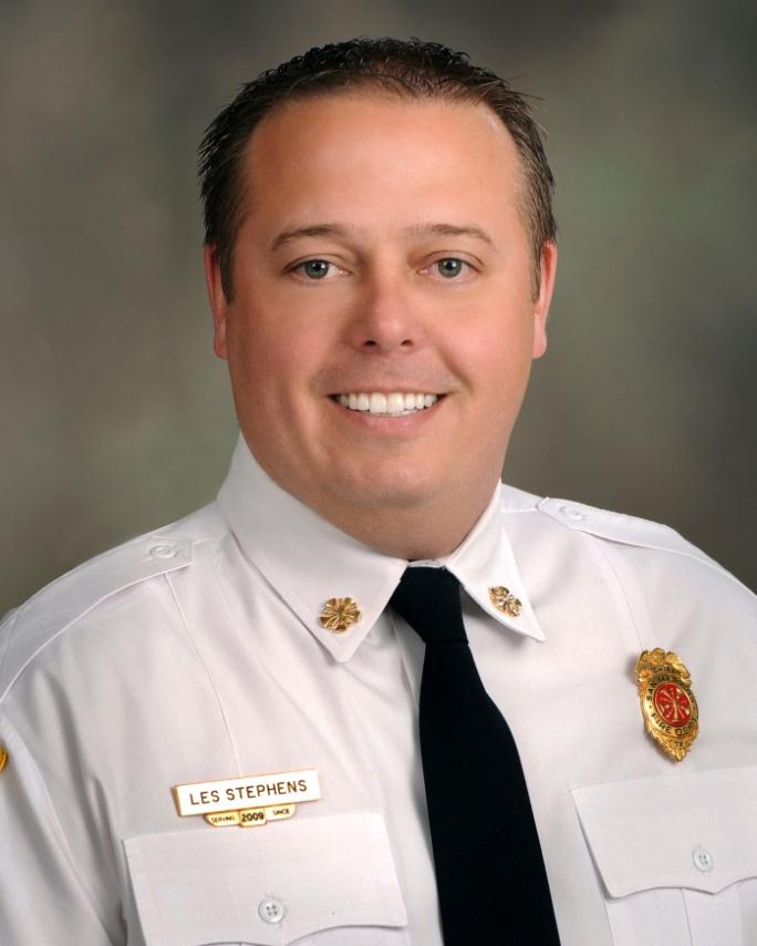Les Stephens, Fire Chief