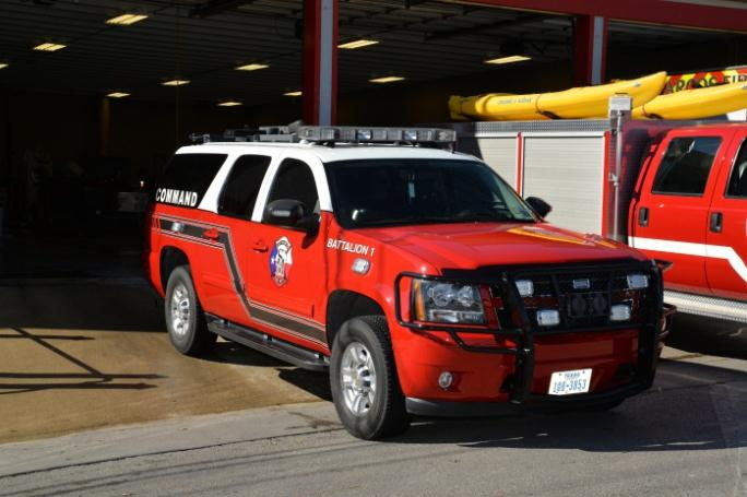 Battalion Chief Command Vehicle