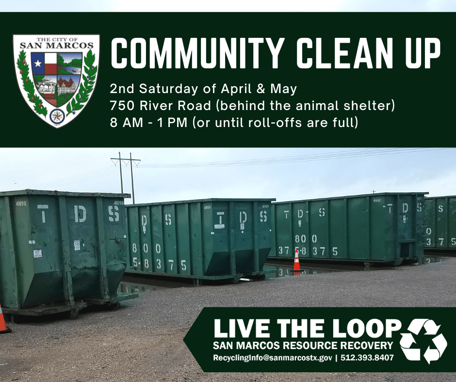 Community Cleanup_Spring Dates (1)