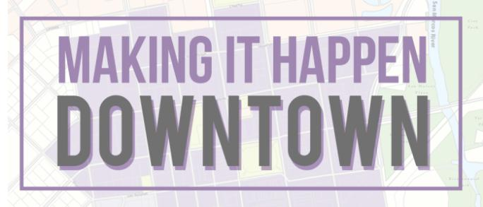 Making It Happen Downtown Logo