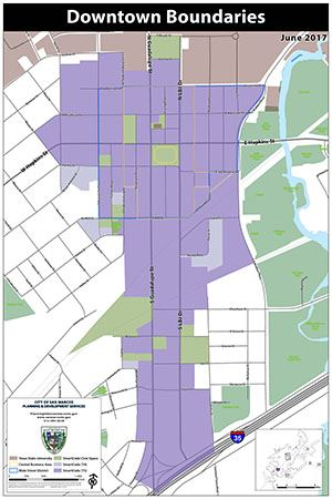Downtown San Marcos Boundaries - jpg
