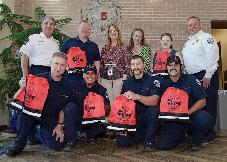 CFAAA Donating Backpacks Resized